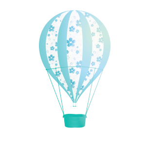 Freebie Teal Balloon