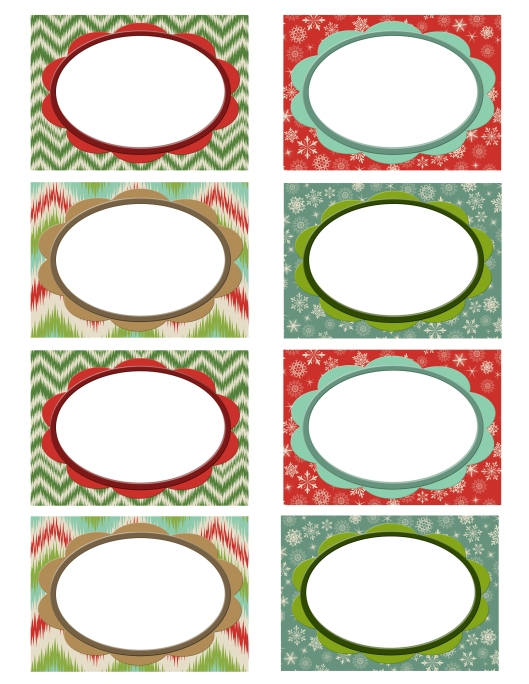 Holiday Blog Freebie Labels