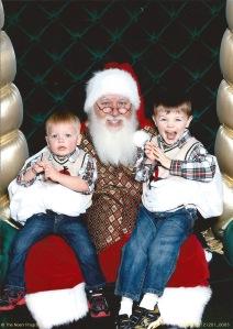 Visit with Santa 2012