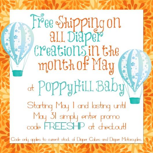 Free Shipping PoppyHill Baby