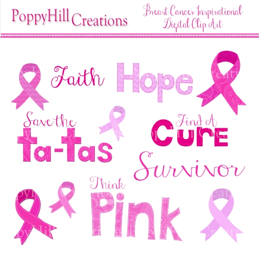 Breast Cancer Clip Art