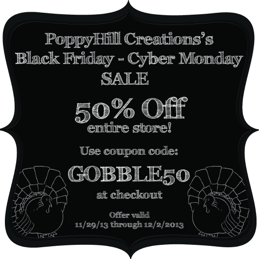 50% OFF black friday sale 2013