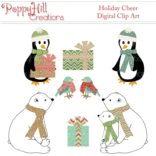 Holiday Cheer Clip Art